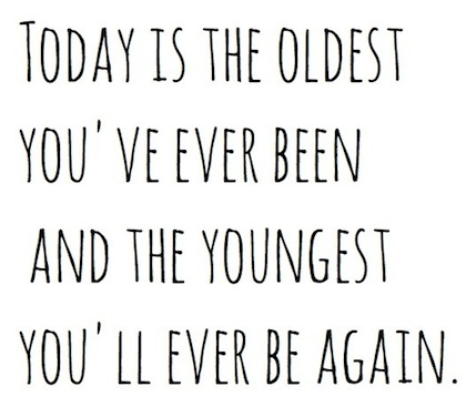Today is the oldest