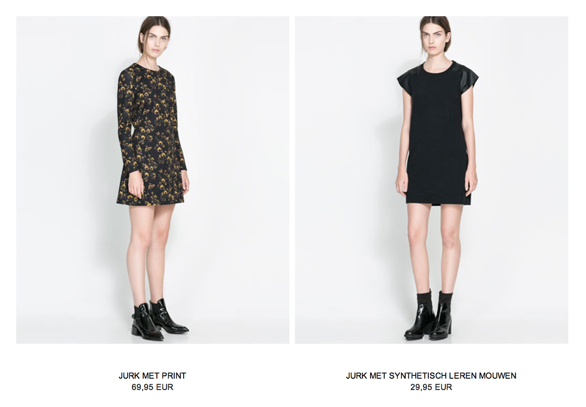 Screenshot jurkjes Zara 3